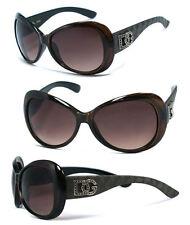 Discounted DG Womens Soho Sunglasses Burgundy Frame Smoke Lens UV400 DG170