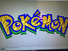OVER 200 POKEMON EMBROIDERY DESIGNS IN PES,HUS,JEF,VP3