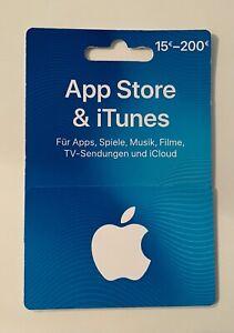 App Store & itunes karte 100€ Guthabenkarte