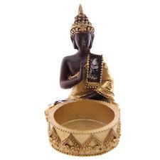 New Decorative Thai Buddha Gold and Brown Tealight Holder