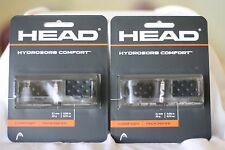 HEAD TENNIS REPLACEMENT GRIP HYDROSORB COMFORT  BLACK, TENNIS,TWO SETS