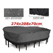 Large Waterproof Furniture Cover Outdoor Garden Patio Bench Table Rain Protect