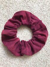 Purple Red Hair Scrunchy Elastic Hair Band Bobble Hairband