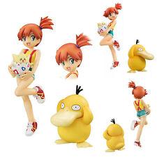 G.E.M. Series Pokemon Misty Kasumi & Togepi Togepy & Psyduck Figurine No Box