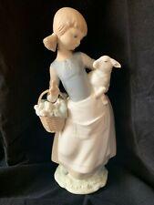 "Lladró Figure ""Girl with Lamb"""