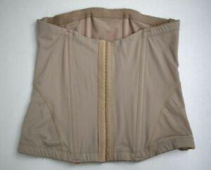 Belly Bandit Womens Beige Mother Tucker Corset Waist Slimming Shapewear L