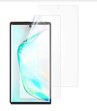 For Samsung Galaxy Note 10 Screen Protector TPU Clear Saver Friendly Cover 2 Pc
