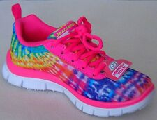 $54 Girls Skechers Skech Appeal Limited Edition Neon/Pink/Multi Size: Us: 11
