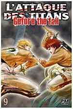 manga L'Attaque des Titans - Before The fall Tome 9 Seinen Hajime Isayama Pika