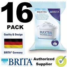 16 x BRITA MAXTRA New Water Filter Jug Refills Genuine Replacement Cartridges