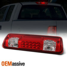 Fit 2004-2008 Ford F150 07-10 Explorer Sport Trac LED 3rd Brake Tail Light Red
