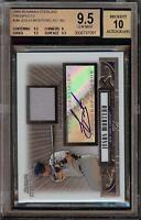 2008 Bowman Sterling Jesus Montero Rookie RC Jersey BGS 9.5 Autograph 10 Auto 09