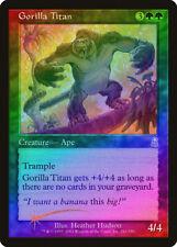 Gorilla Titan FOIL Odyssey NM-M Green Uncommon MAGIC THE GATHERING CARD ABUGames