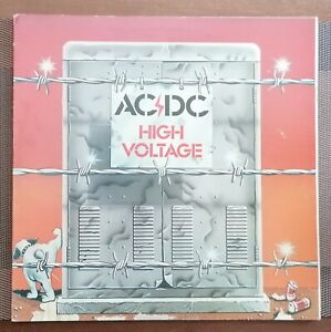 "AC/DC  LP- VINYL  ""HIGH VOLTAGE"" **NEUSEELAND**"