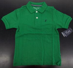 Boys Nautica $26.50 Uniform/Casual Green Polo Shirt Size 4 - 7X