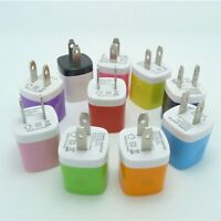 LOT10 USB Wall Charger Plug Home Power Adapter FOR iPhone Samsung Universal