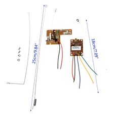 4CH 40MHZ Remote Transmitter & Receiver Board with Antenna for RC Car Robot DIY
