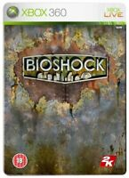 Bioshock - Limited Steelbook Edition (Xbox 360 Game) *GOOD CONDITION*