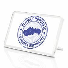 Slovak Republic Vinyl Classic Fridge Magnet - Slovenska Map Cool Gift #9298