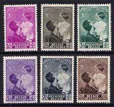 Belgium mint 1937 Queen Astrid memorial set