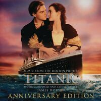 JAMES HORNER - TITANIC/OST-ANNIVERSARY EDITION 2 CD NEU HORNER,JAMES