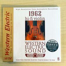 Western Electric Sound 西電之聲 1962 Hi-Fi Violin  Made in Germany  WE DEMO CD 發燒小提琴