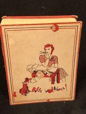 Vintage ACCORDION File Organizer BILLS n THINGS FREE SHIPPING