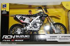 Ken Roczen 2015 RCH Suzuki 94 Soaring eagle factory racing model bike scale 1:6