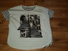 *Neu* Tolles T-Shirt Tunika von Oui Gr.44