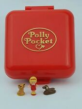 Vintage Polly Pocket  Polly's Town House Red 100% complete 1989 By Bluebird