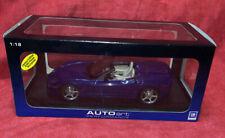 Auto Art Chevrolet Corvette 1/18 C6 Convertible Scale Car
