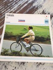 Yamaha PAS vélo électrique 1993 Carte moto Collection Atlas Japon
