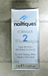 Nailtiques Formula 2 Nail Protein for Soft Peeling Weak or Thin Nails 7 ml New