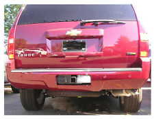 REAR BUMPER TRIM MOLDING CHROME FITS 2007 - 2014 CHEVROLET TAHOE SUBURBAN
