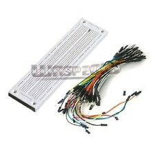 SYB-130 Solderless PCB Breadboard 730 Point + 65pcs Male to Male Jump Wire