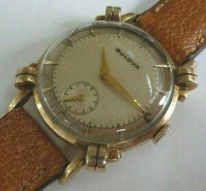 Vintage Bulova Knotted Lug Mechanical Watch - Caliber 10BT - No Reserve !