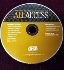 All Access September 2017 Embroidery machine Design Cd (CD ONLY)