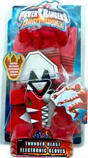 Power Rangers Dino Thunder RED Gloves W Electronic Morpher fighting Sound New