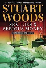 Sex, Lies & Serious Money (A Stone Barrington Novel)-ExLibrary