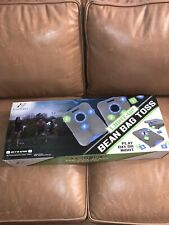 New In Box EastPoint Sports Light-Up 8 Bean Bag Toss Set 23.5x18 Corn Hole Game