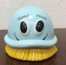 "Scrubbing Bubbles Promotional 1992 Ceramic Coin Piggy Bank 5"""