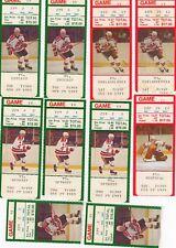 1983 - 1989 NEW JERSEY DEVILS TICKET STUBS - PICK ONE