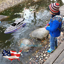 Kids Remote Control RC Super Mini Speed Boat High Performance Boat Toy US STOCK