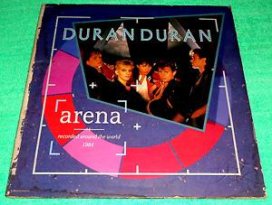 MADE IN U.S.A.:DURAN DURAN - ARENA,LP ALBUM,RARE,THE REFLEX,THE WILD BOYS
