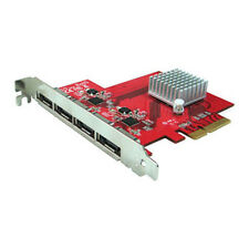 Oodelay eSATA 6Gbps 4-Port AHCI x4 Lane PCIe 2.0 Host Card for MAC/PC (PE-134)