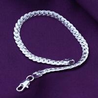 Hot Sonderpreis Großhandel Silber Schmuck Herren / Damen-Armband Geschenke