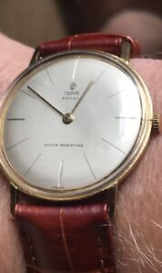 Tudor Royal Small Rose Vintage Manual Winding Mens Watch Authentic Working