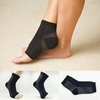 Ankle Foot Elastic Compression Wrap Sleeve Bandage Brace Support Protection L11