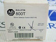ALLEN BRADLEY 800T-H2 SER T SELECTOR SWITCH *NEW*