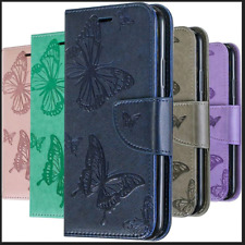 Flip Cover Wallet Butterfly Case For Samsung Galaxy S20 S10 S9 A10 A20 A30 A40